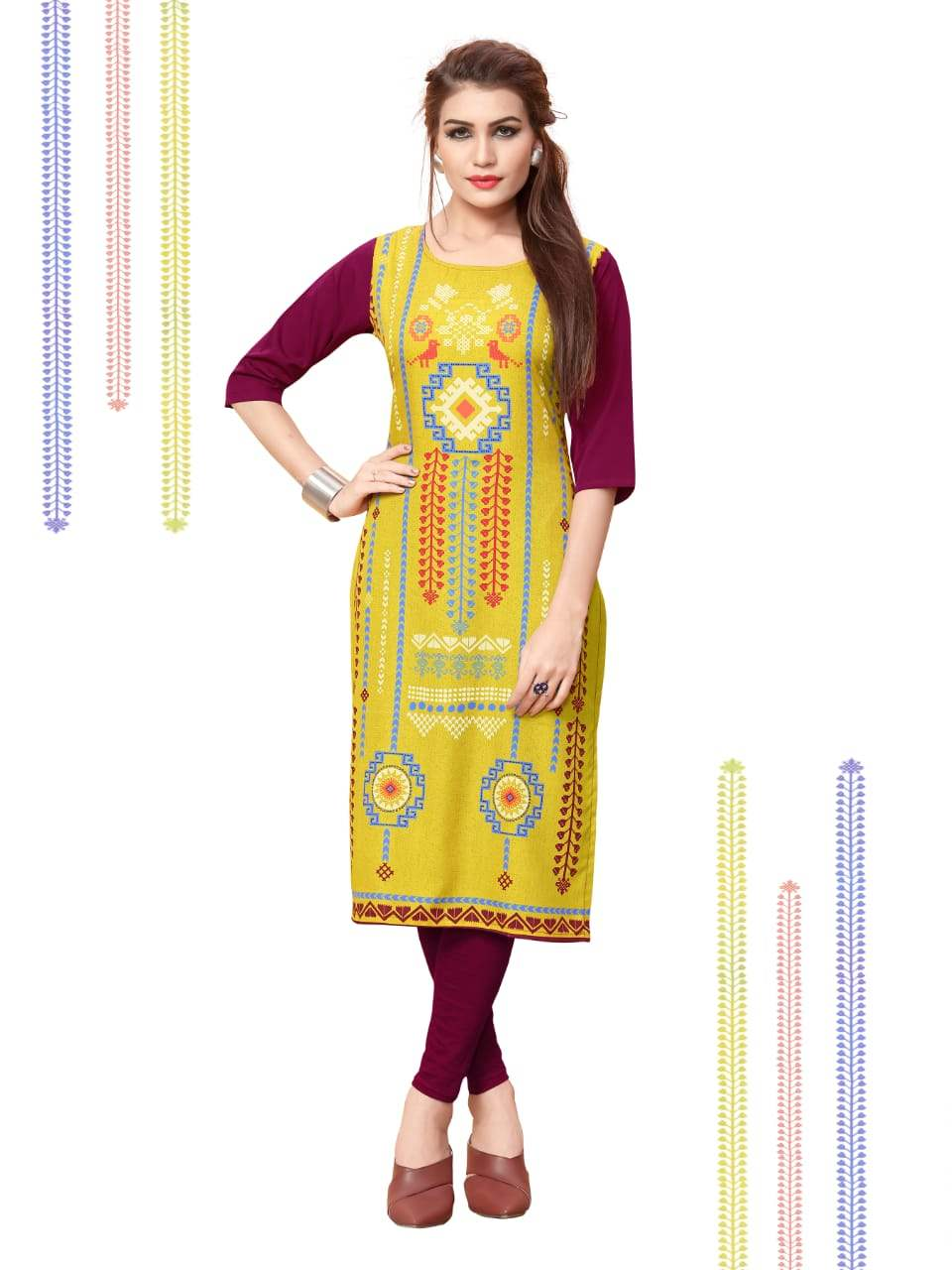 Ethnic Crepe Vol 11 collection 3