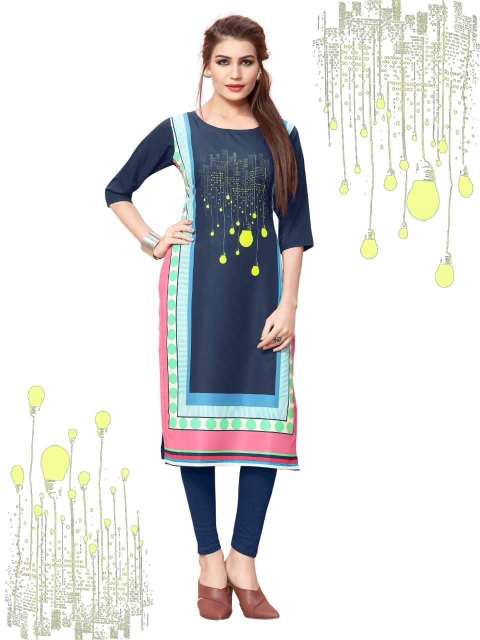 Ethnic Crepe Vol 11 collection 10