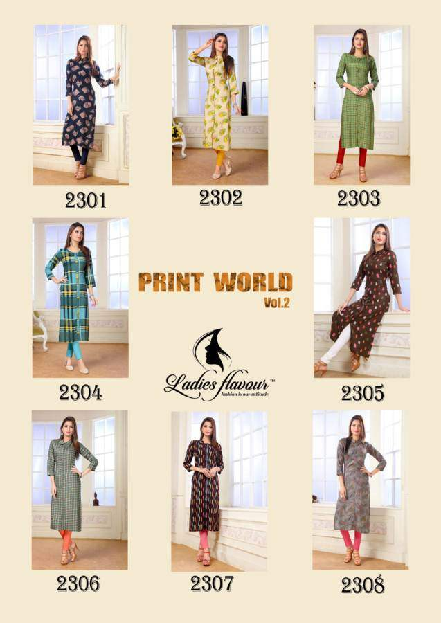 Flavour Print world 2 collection 2