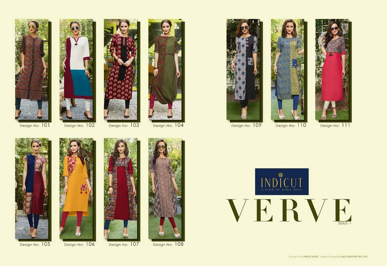 Indicut Verve collection 1