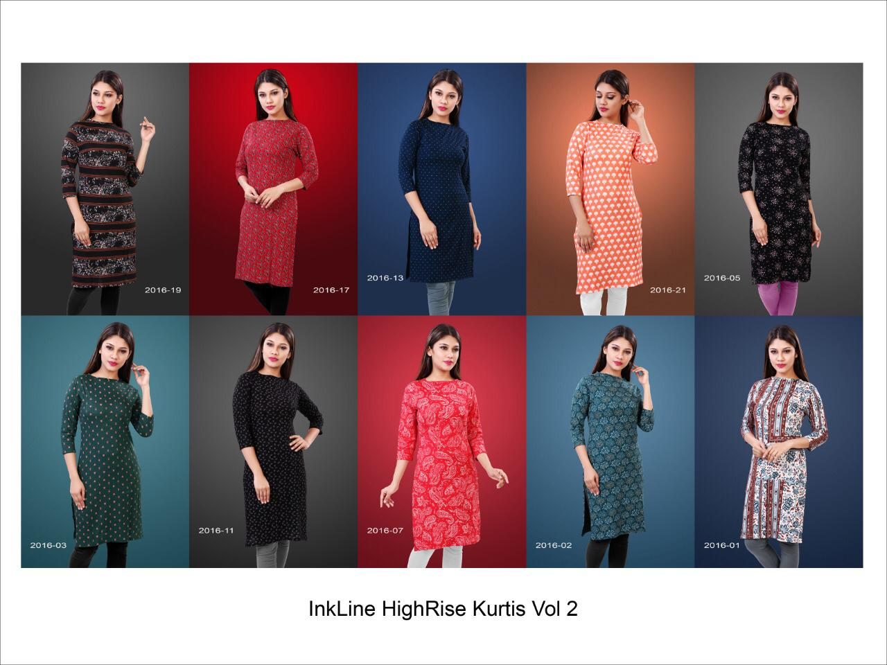 Inkline Highrise Vol 2 collection 6