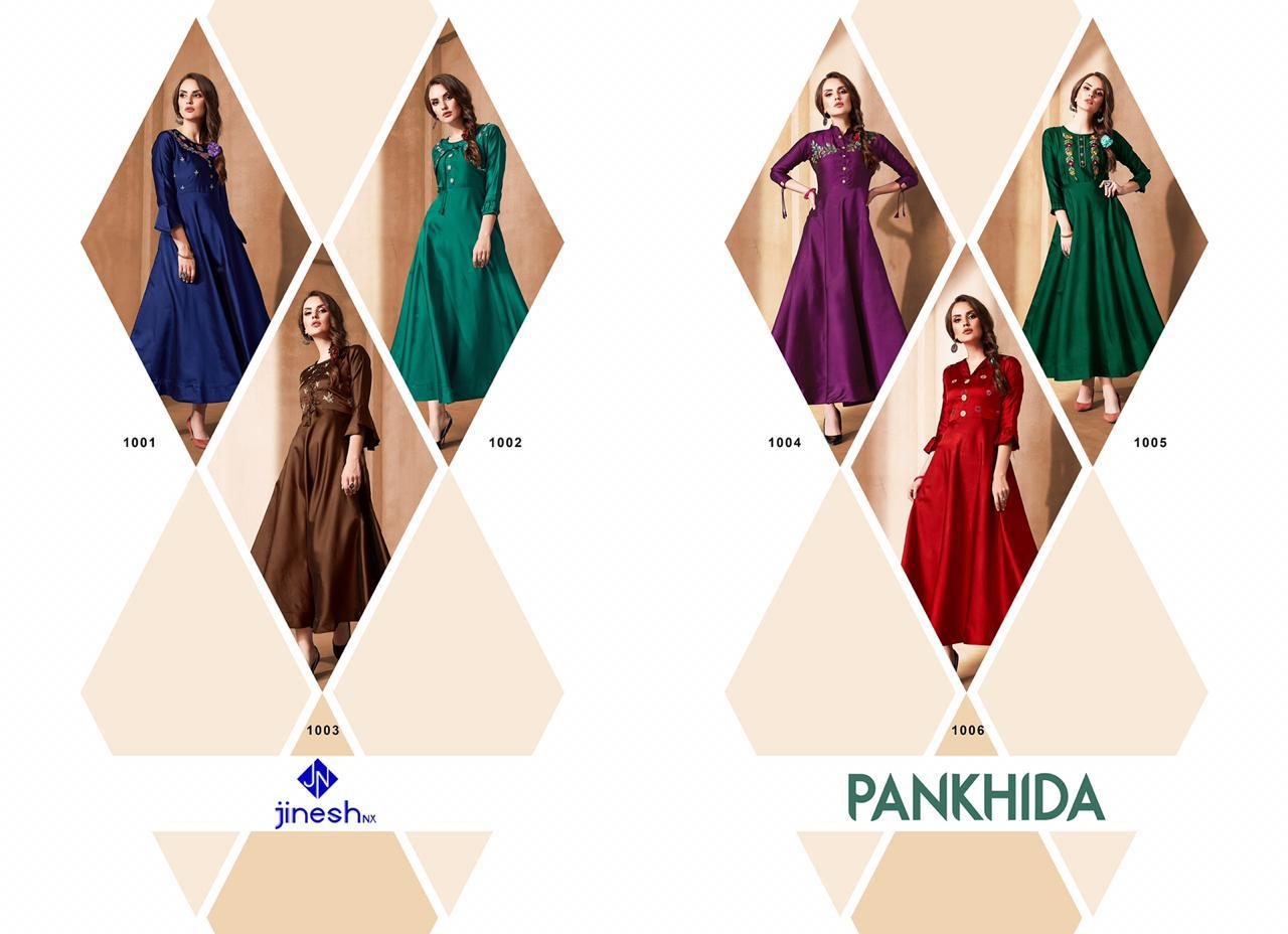 Jinesh Nx Pankhida Vol 1 collection 7