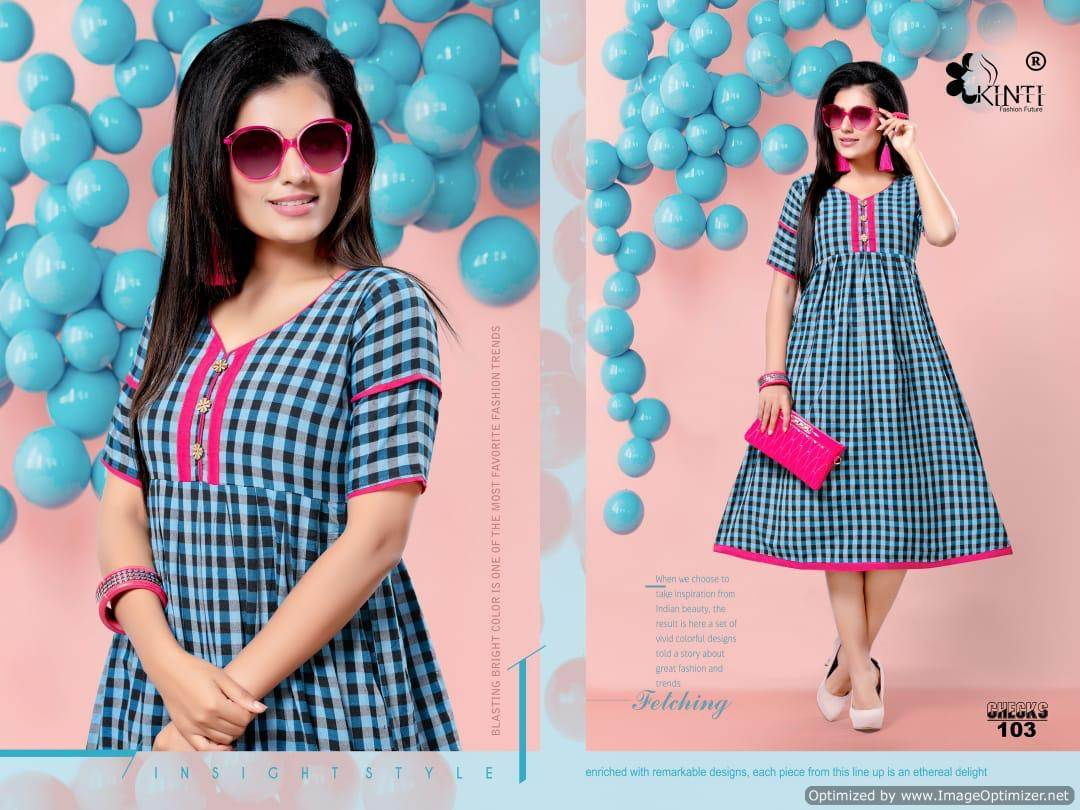 Kinti Handloom Checks collection 6