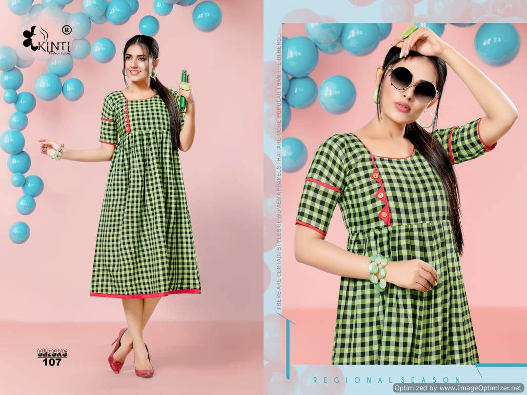 Kinti Handloom Checks collection 8