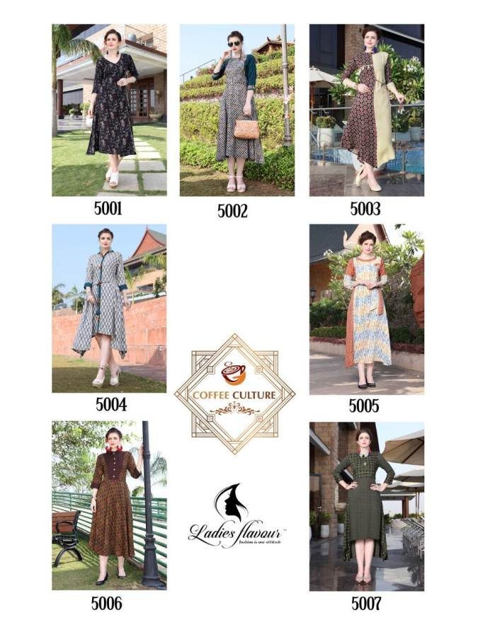 Ladies Flavour Coffee Culture collection 3