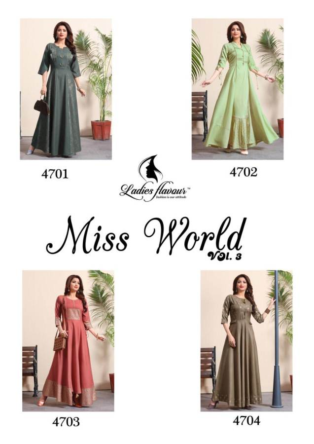 Ladies Flavour Miss World 3 collection 1