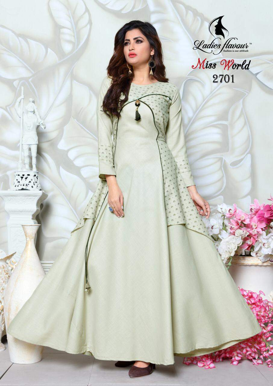 Ladies Flavour Miss World collection 1