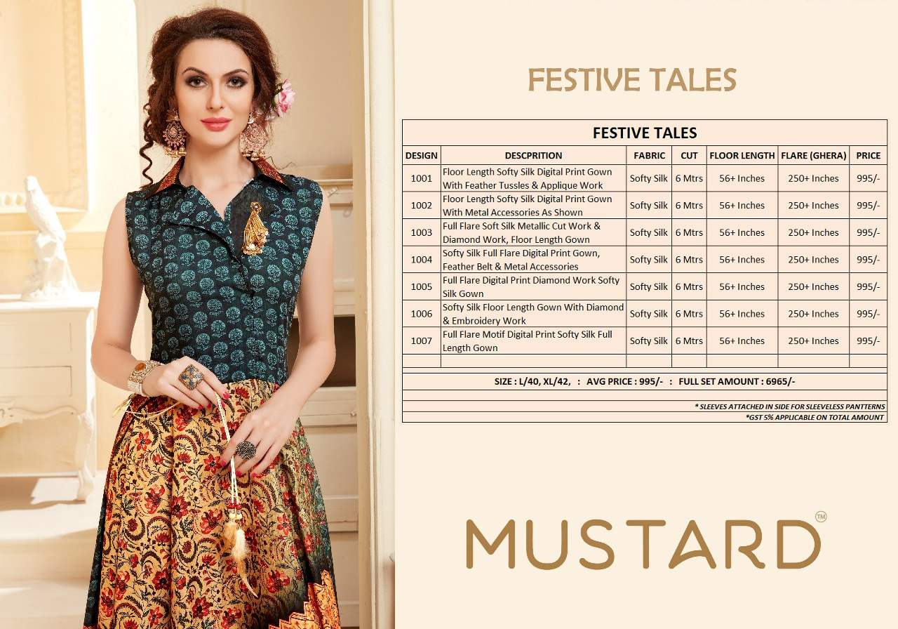 Mustard Festive Tales collection 8