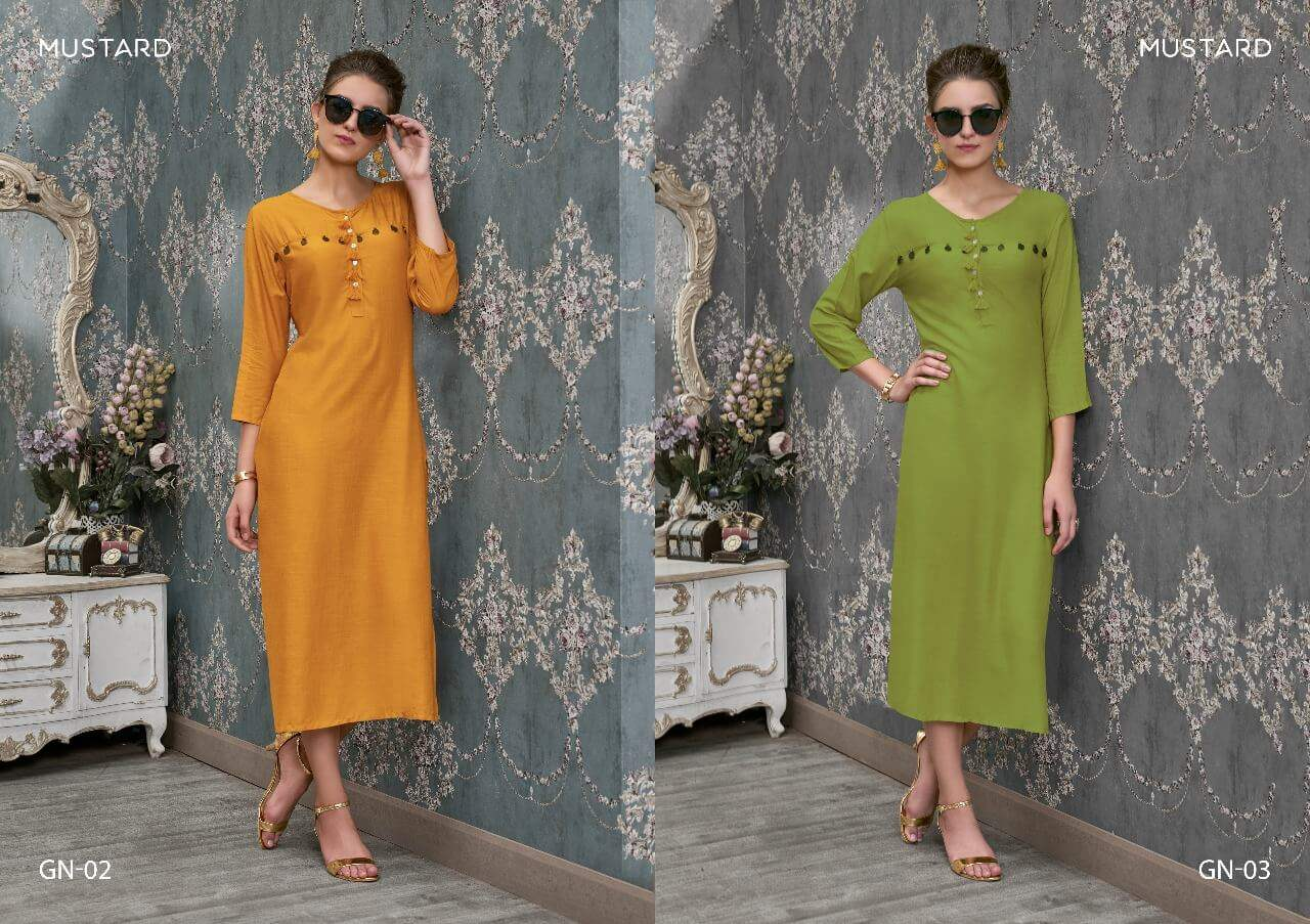 Mustard Gini collection 2