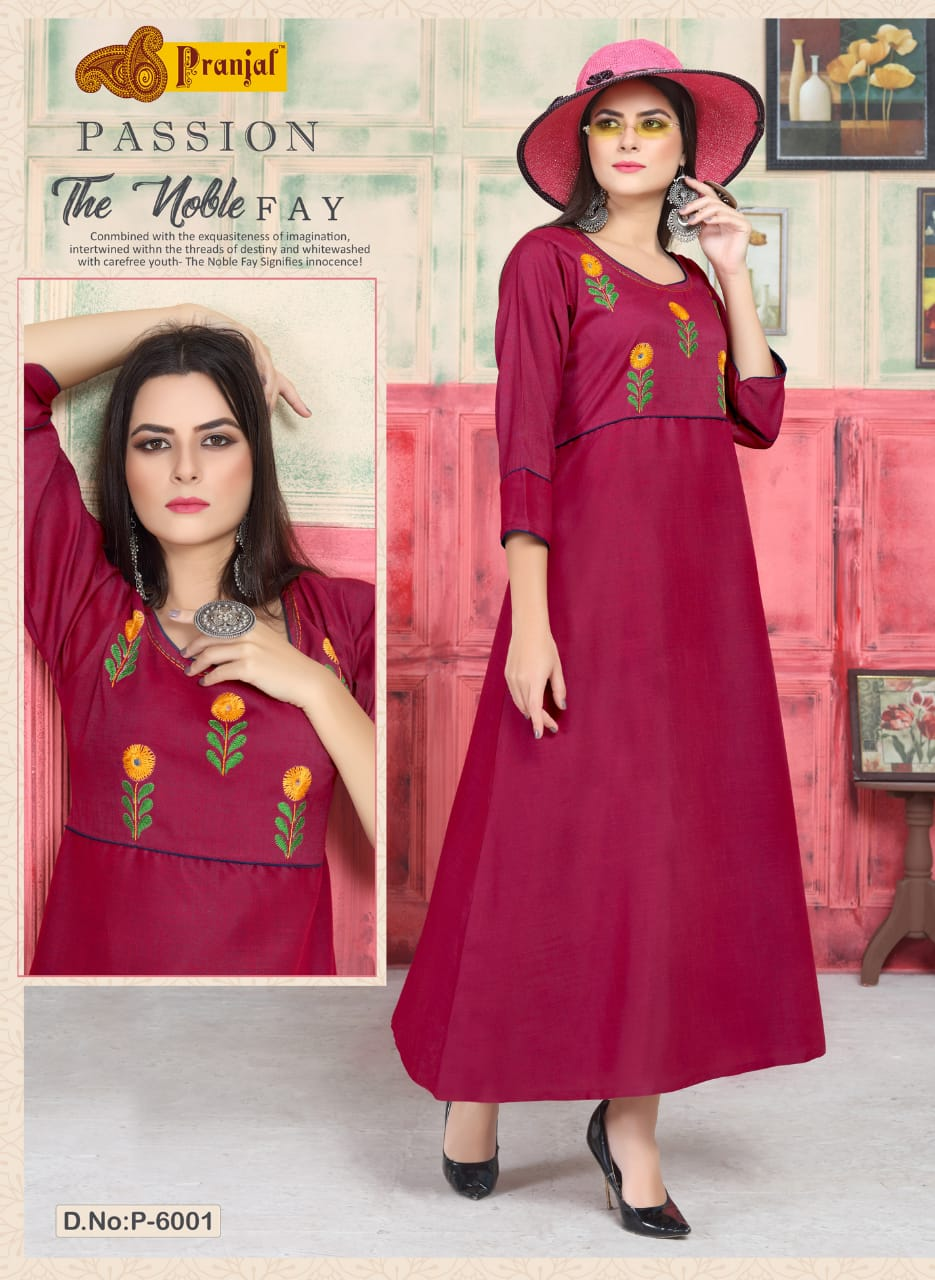 Pranjal Passion Vol 6 collection 1