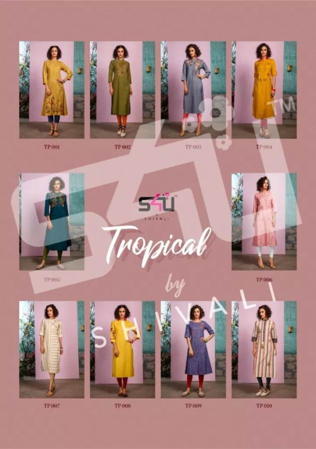 S4U Tropical collection 3