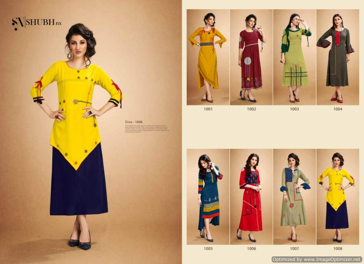 Shubh Rooby collection 1