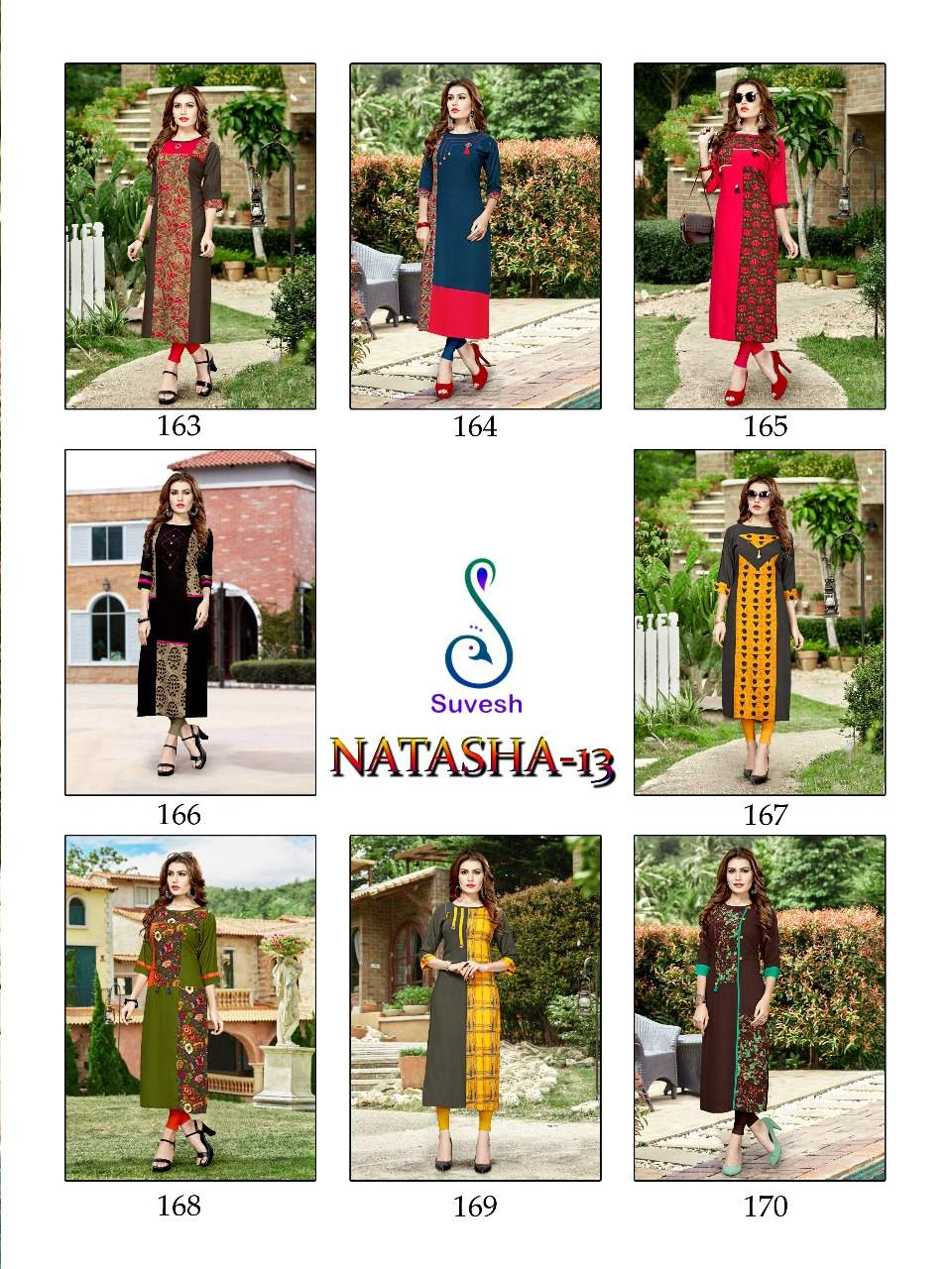 Suvesh Natasha 13 collection 2