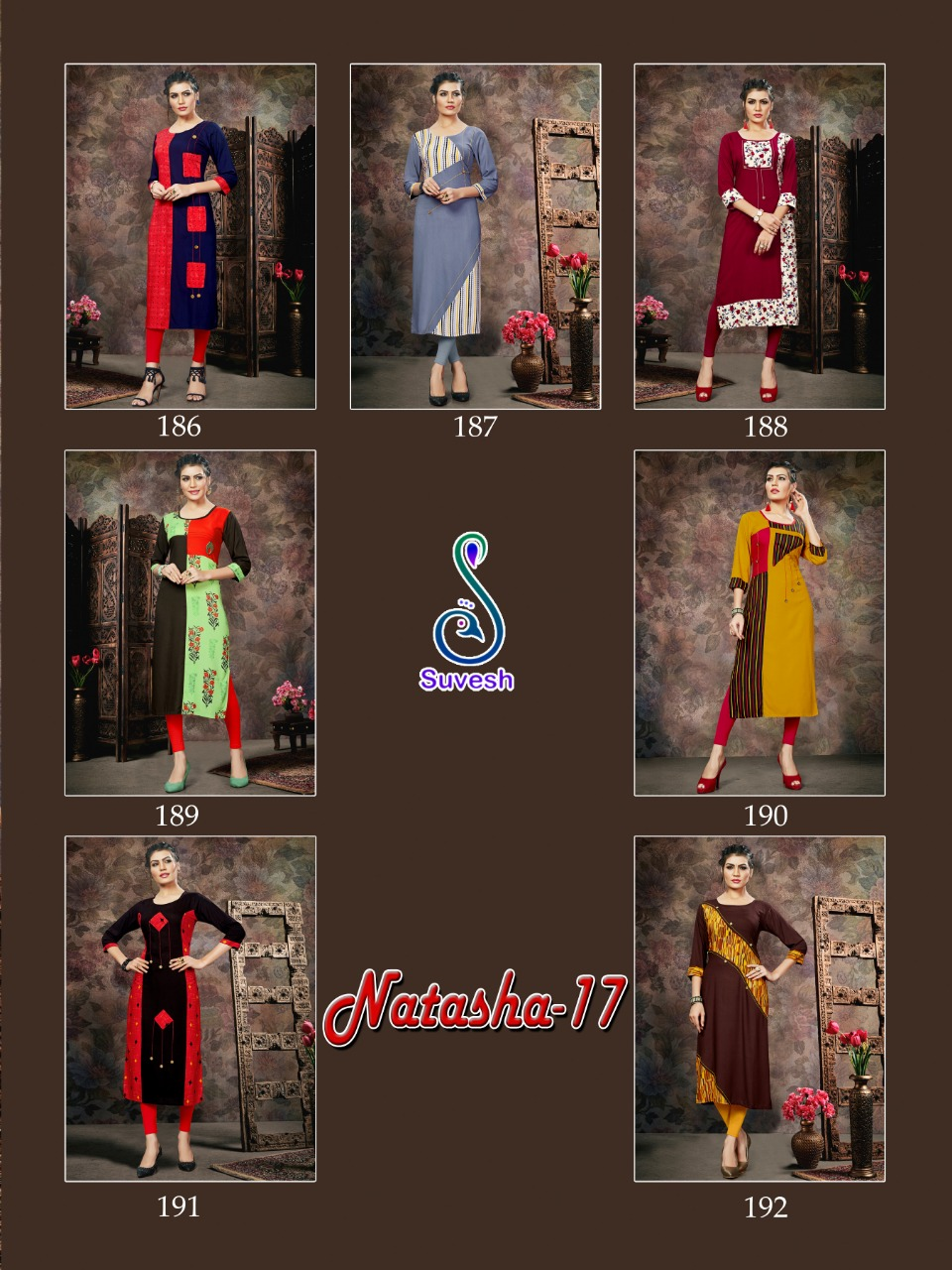 Suvesh Natasha Vol 17 collection 6
