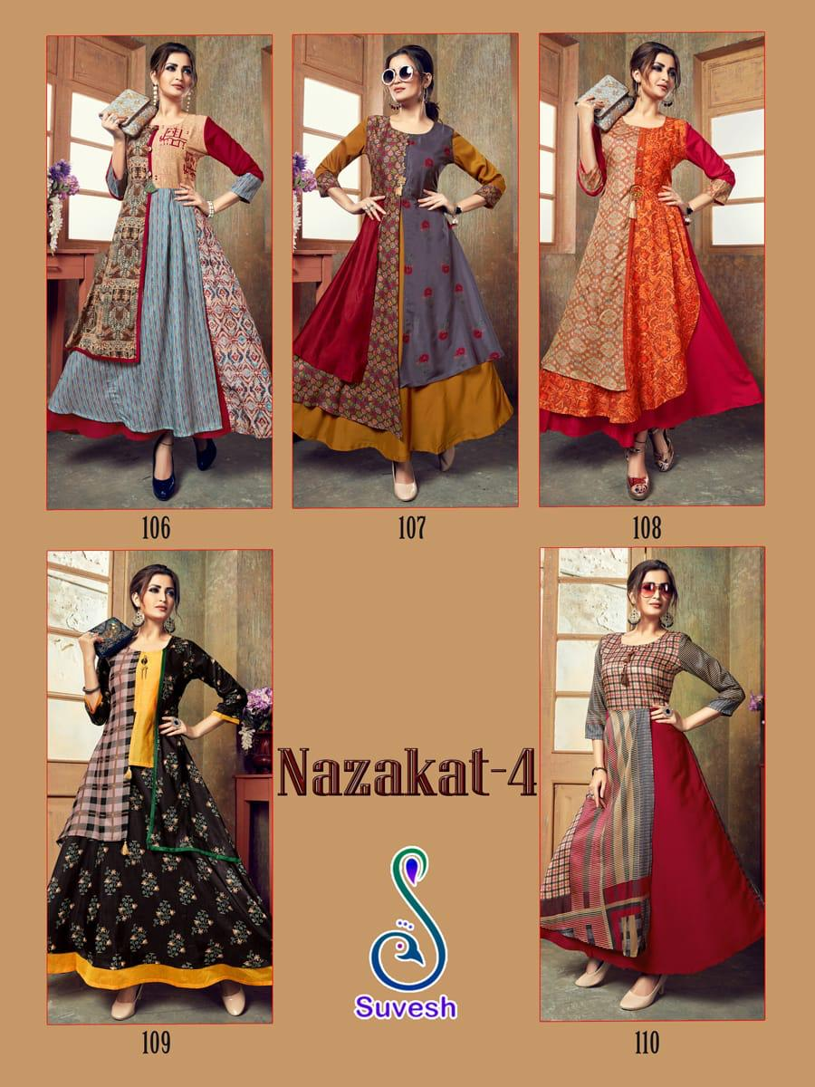 Suvesh Nazakat Vol 4 collection 1