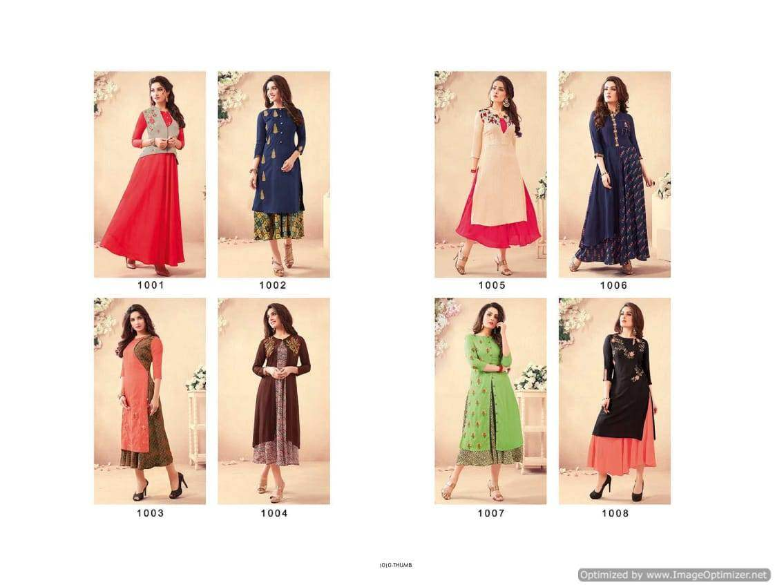 Swarna Pankh 2 Tunic House collection 4