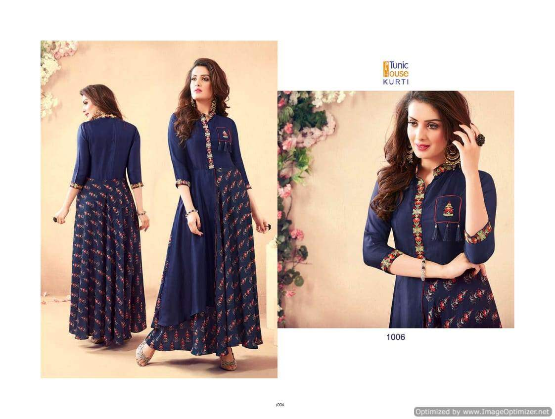Swarna Pankh 2 Tunic House collection 3