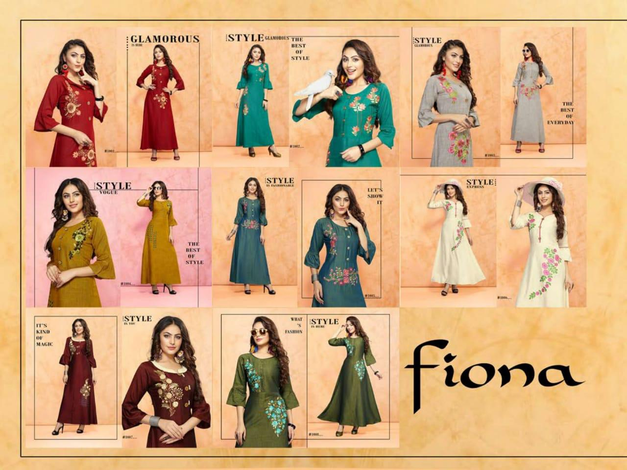 Trendy Fiona collection 8