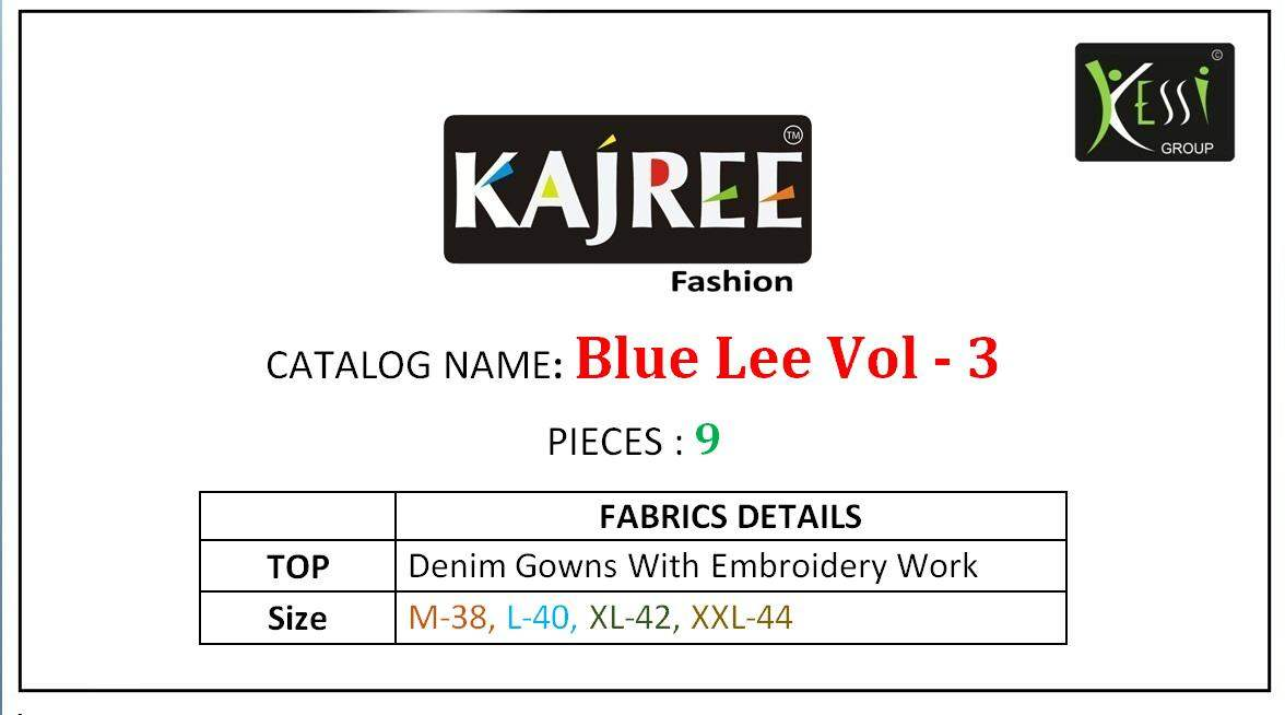 kajree Blue Lee vol 3 collection 10