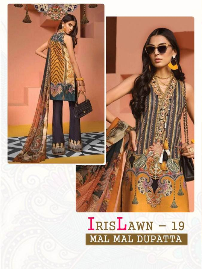 Cyra Iris Lawn 19 collection 7