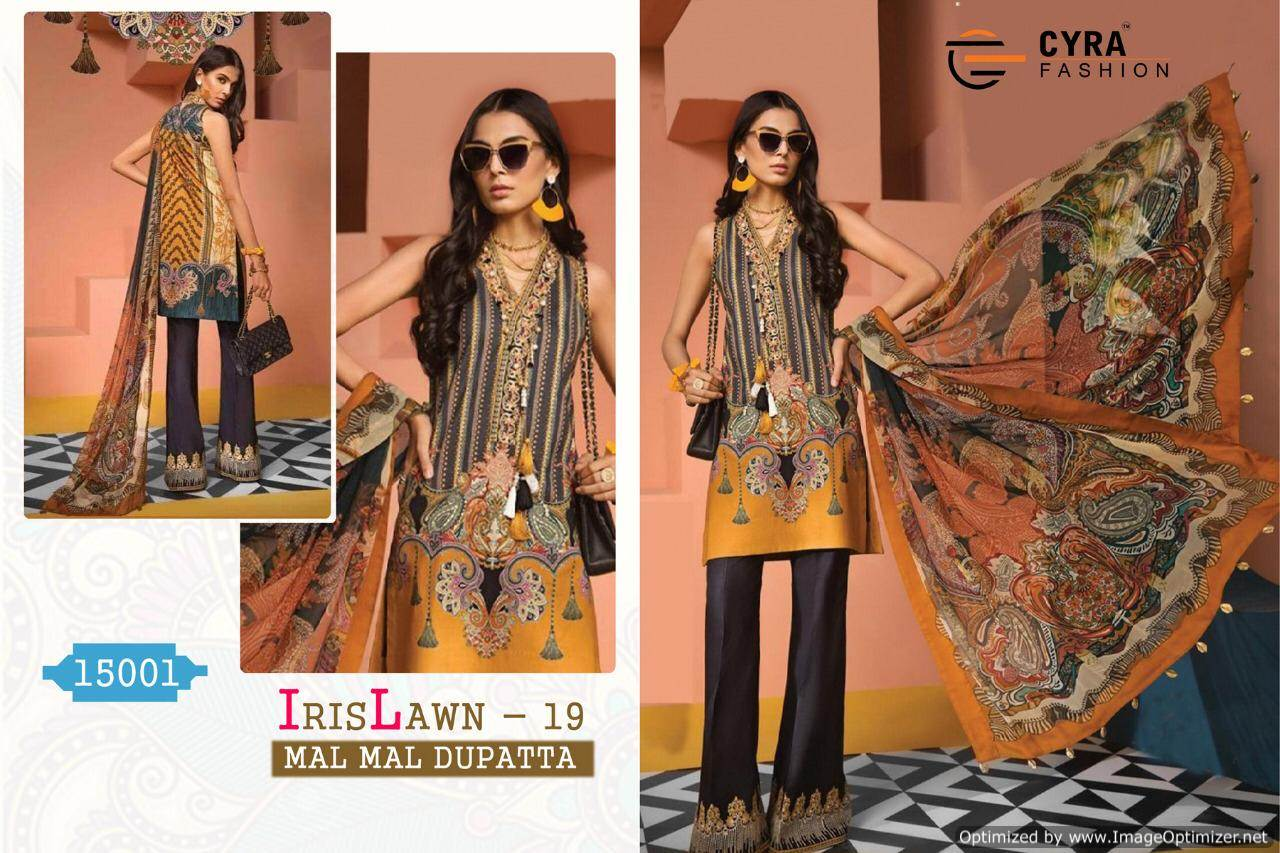 Cyra Iris Lawn 19 collection 5