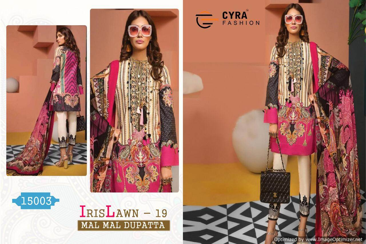 Cyra Iris Lawn 19 collection 4