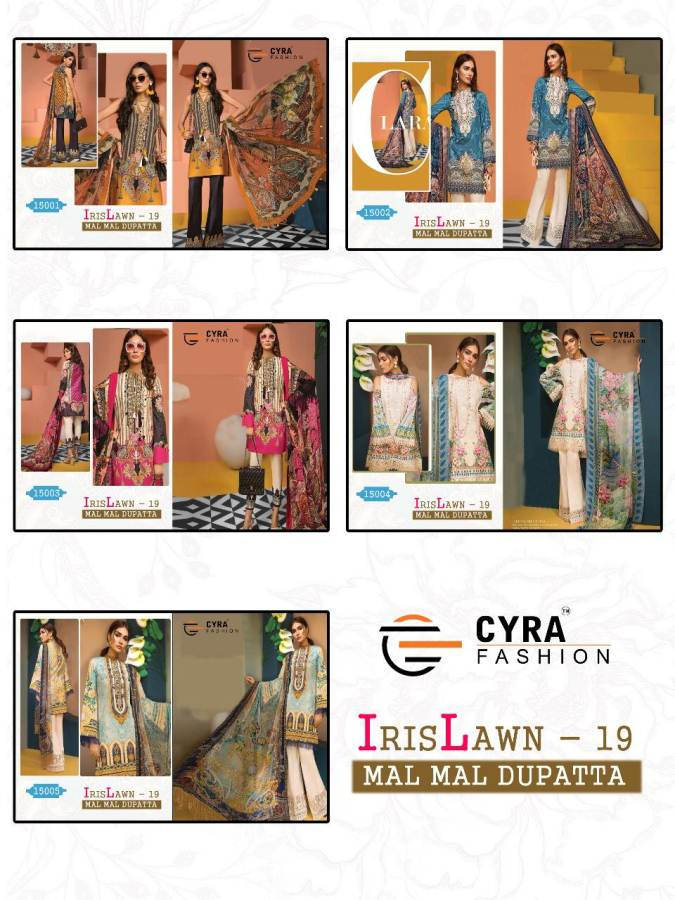 Cyra Iris Lawn 19 collection 3