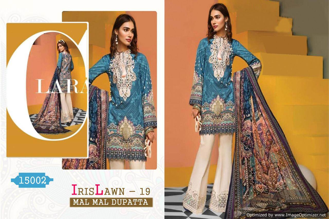 Cyra Iris Lawn 19 collection 1