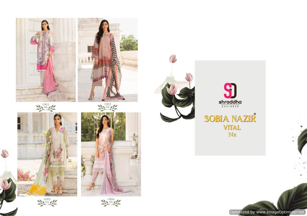 Shraddha Sobia Nazir Vital Nx collection 1