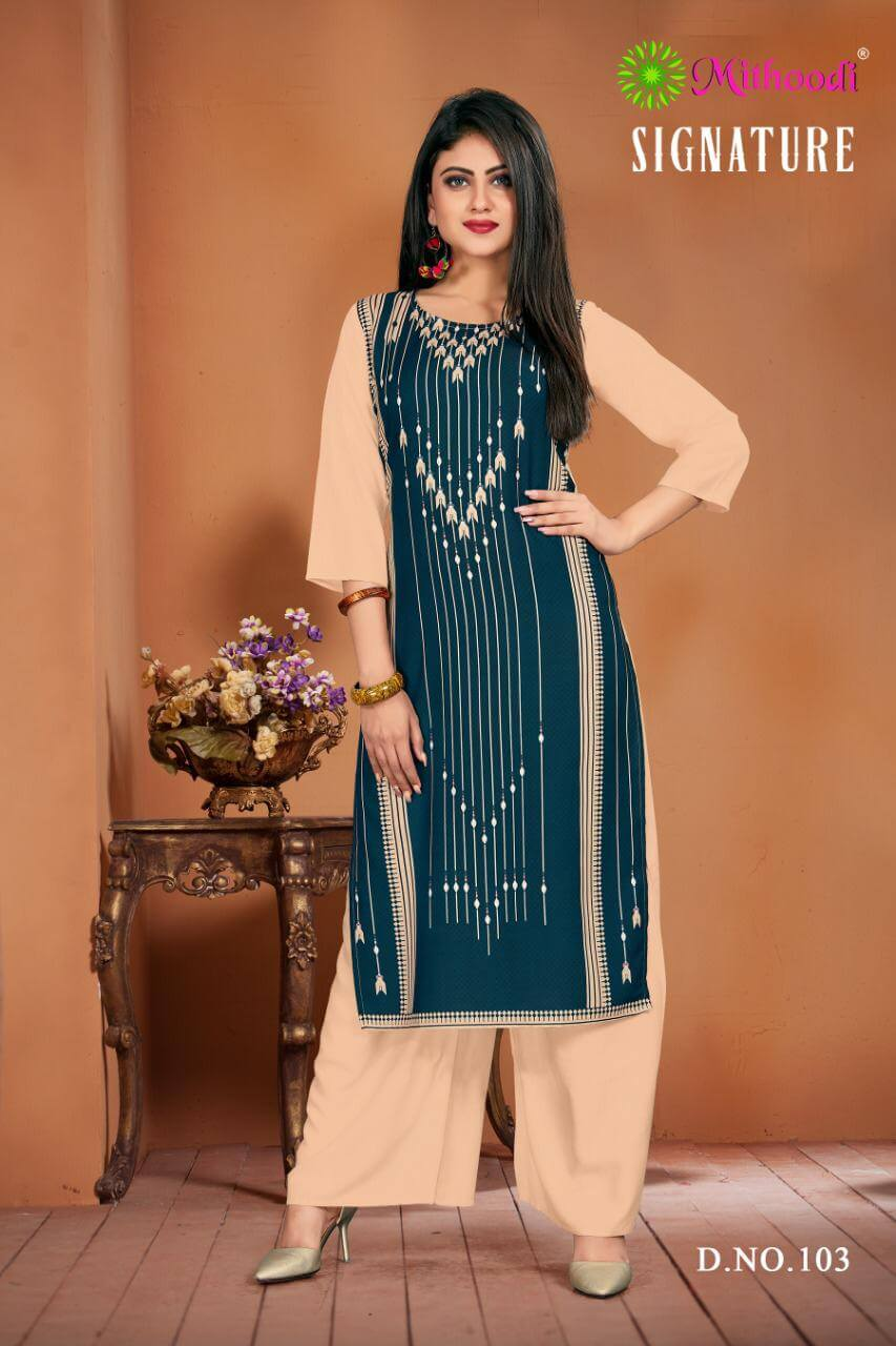 Mithoodi Signature collection 2