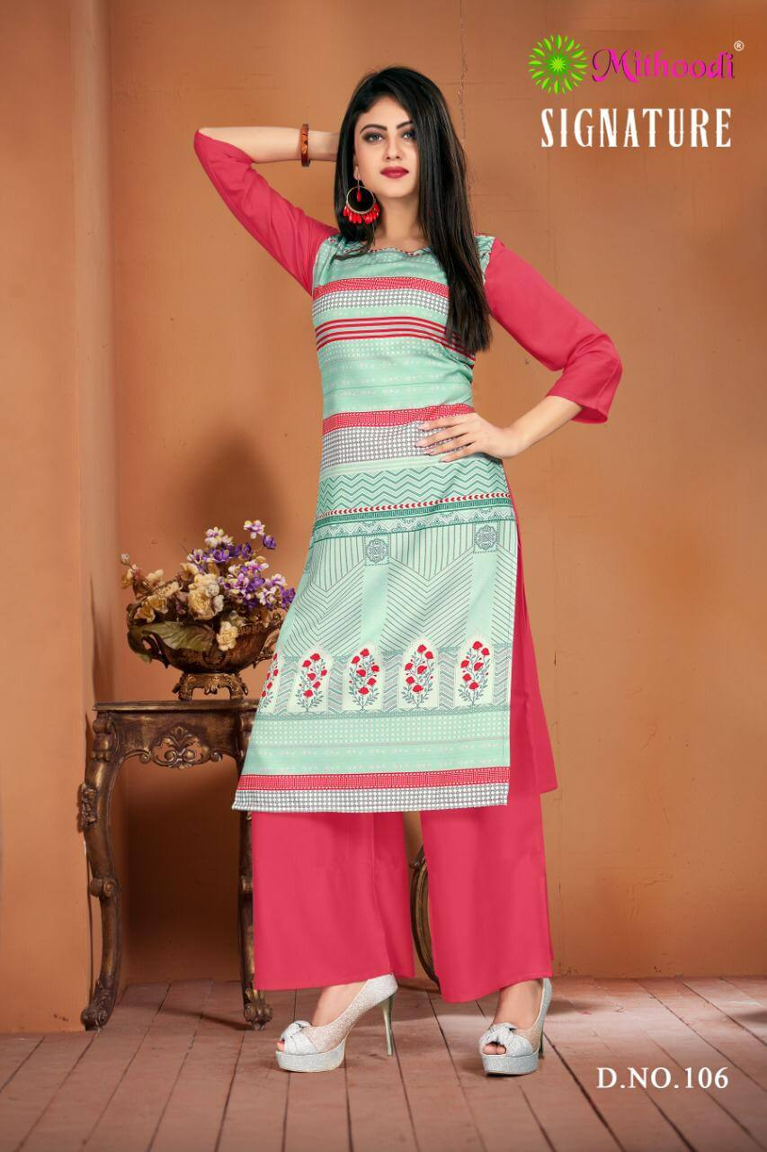 Mithoodi Signature collection 4