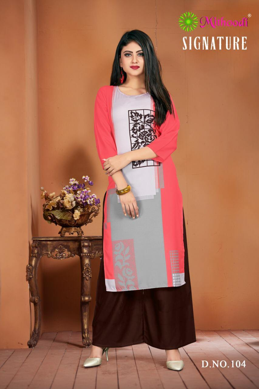 Mithoodi Signature collection 6