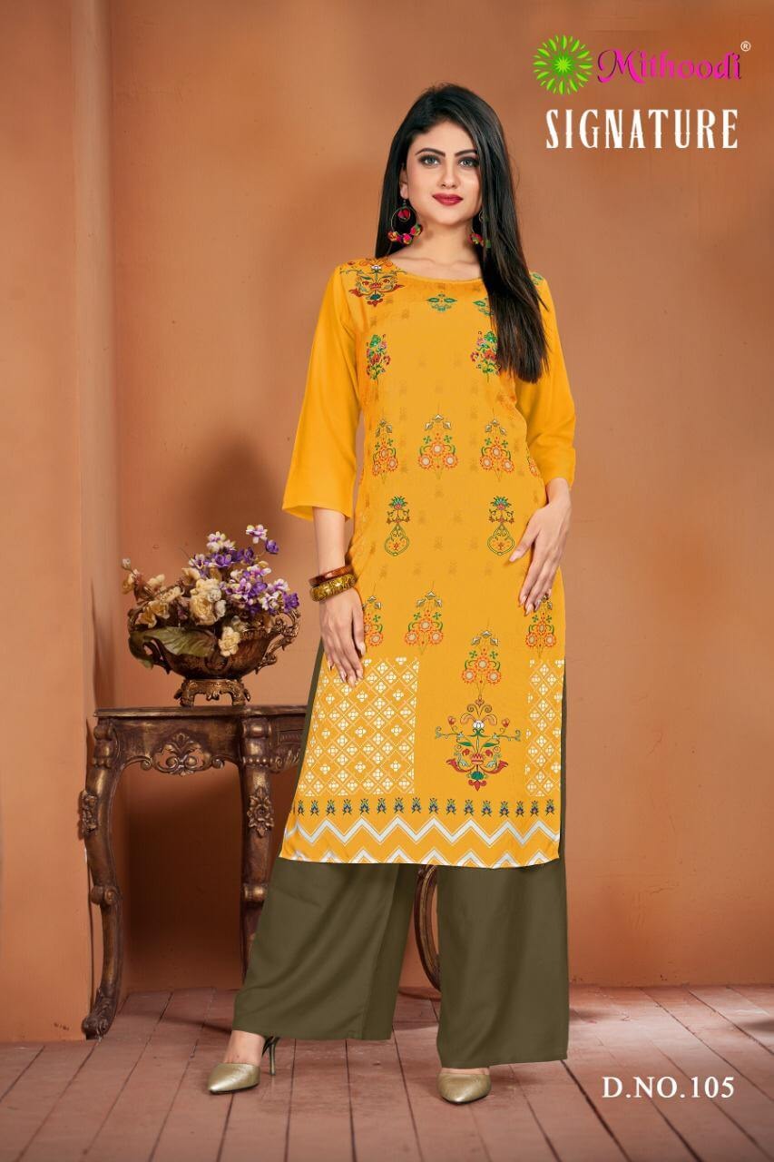 Mithoodi Signature collection 7