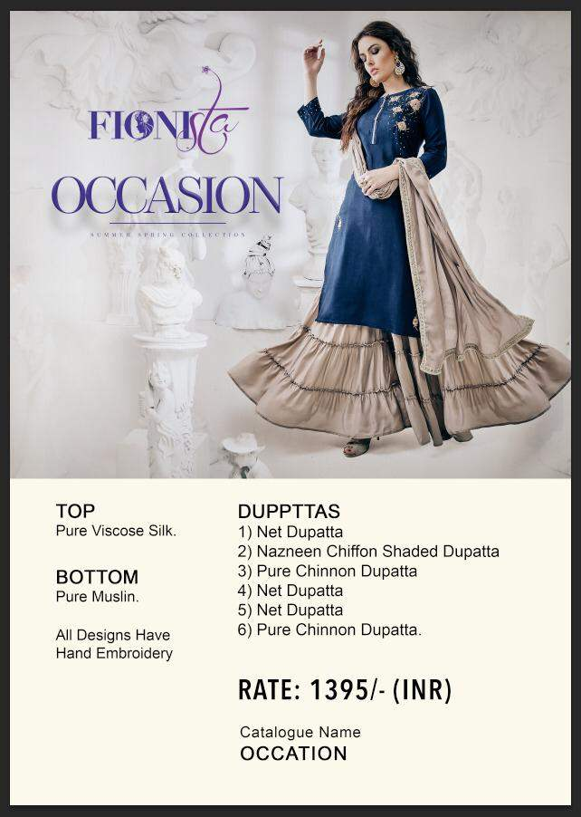 Occasion Fionsta collection 1