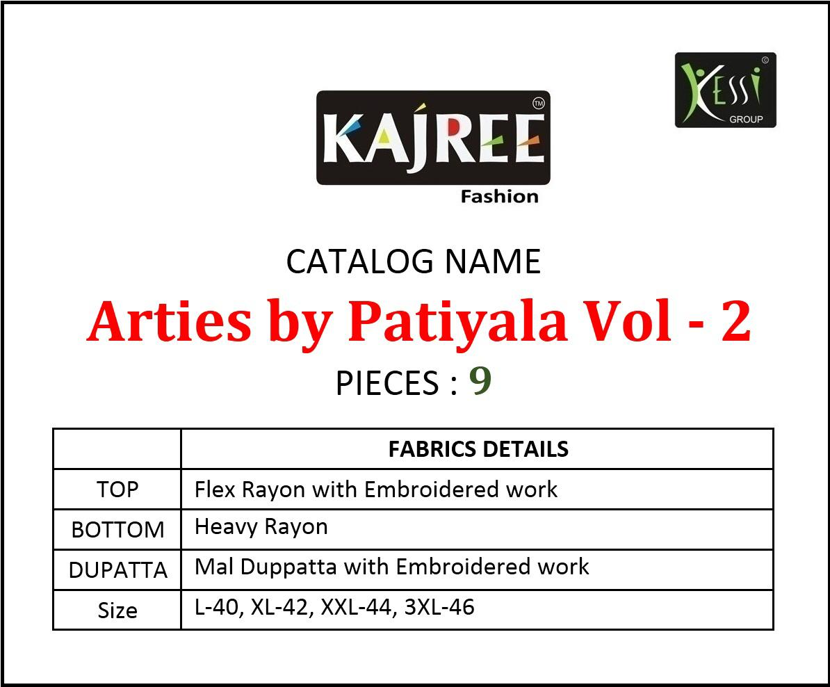 Arties By Patiyala Vol 2 collection 9