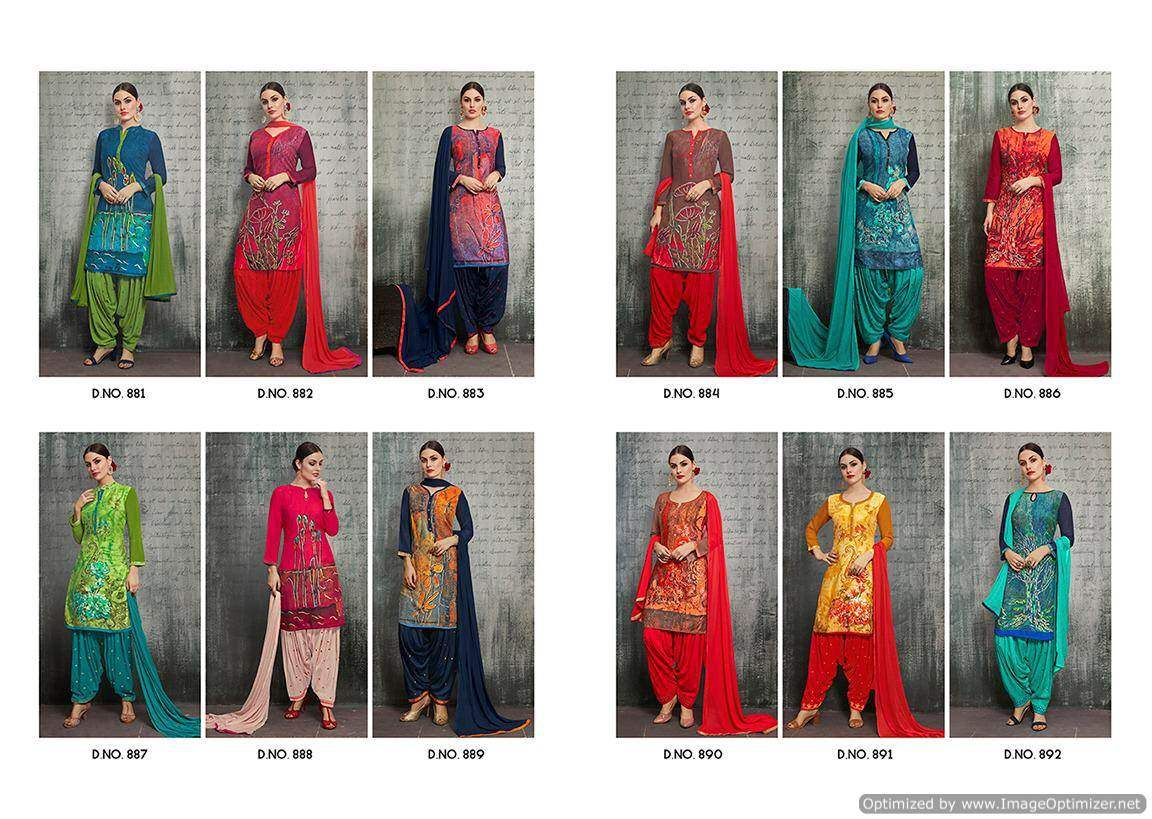 Kajree Royal Patiyala 4 collection 7