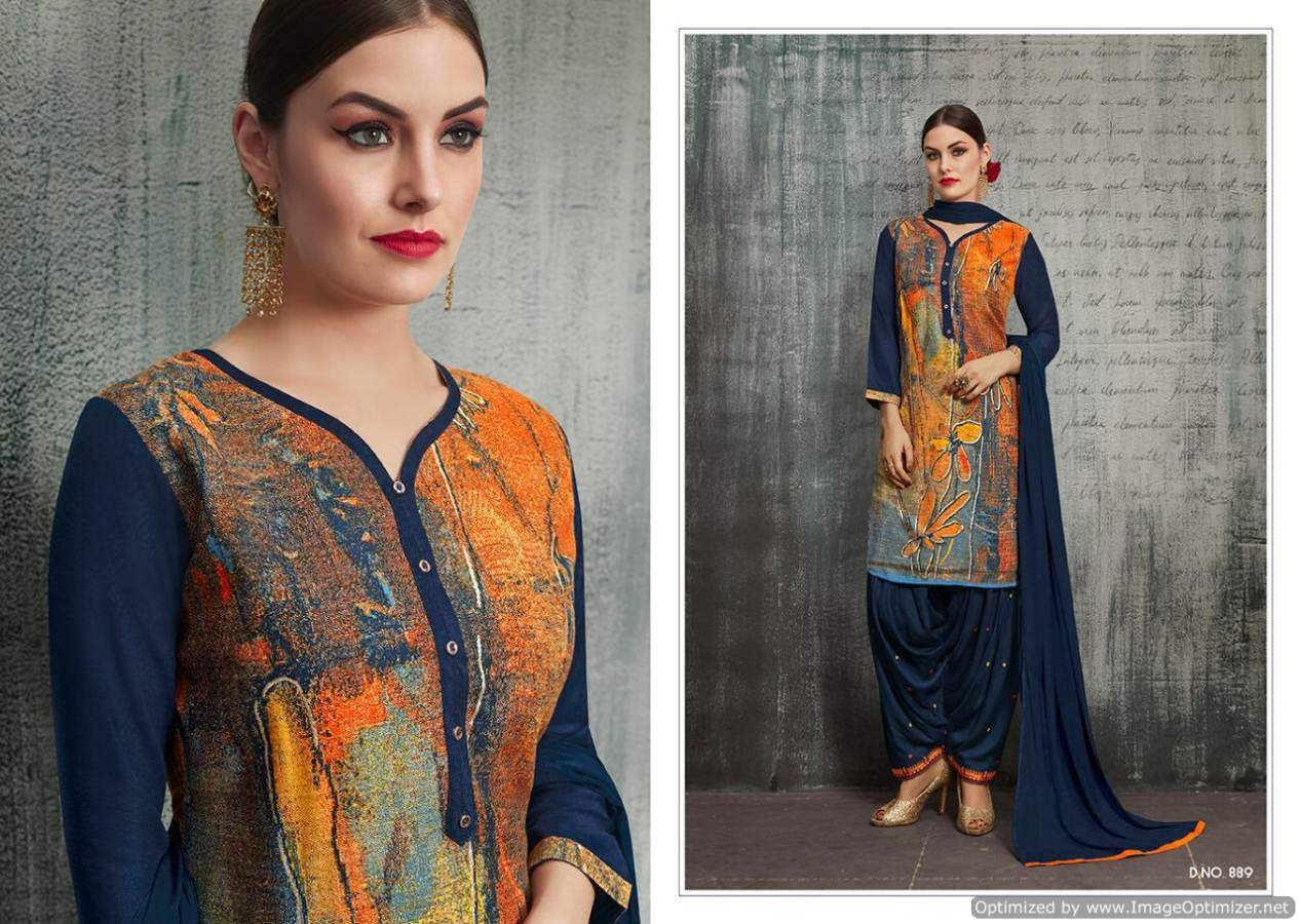 Kajree Royal Patiyala 4 collection 6