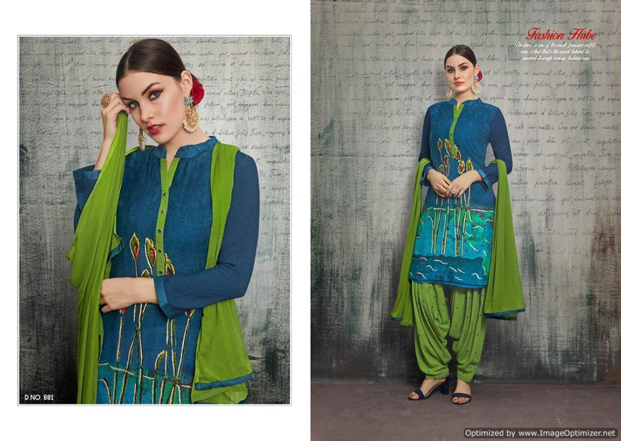 Kajree Royal Patiyala 4 collection 1