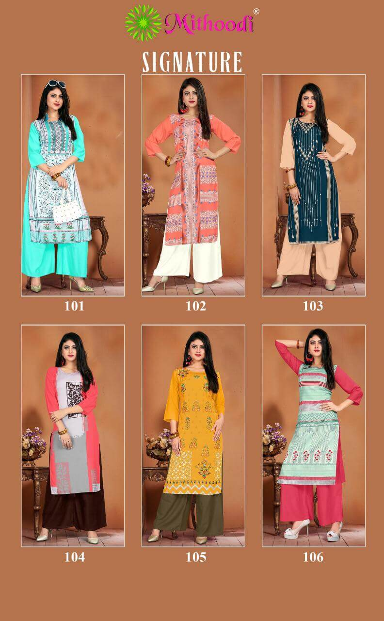 Mithoodi Signature collection 3