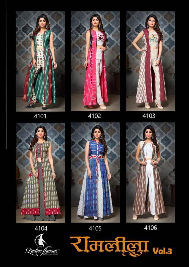 Ladies Flavour RamLeela 3 collection 1