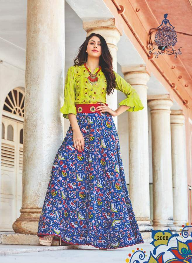 Kajal Style Fashion Lakme 2 collection 7