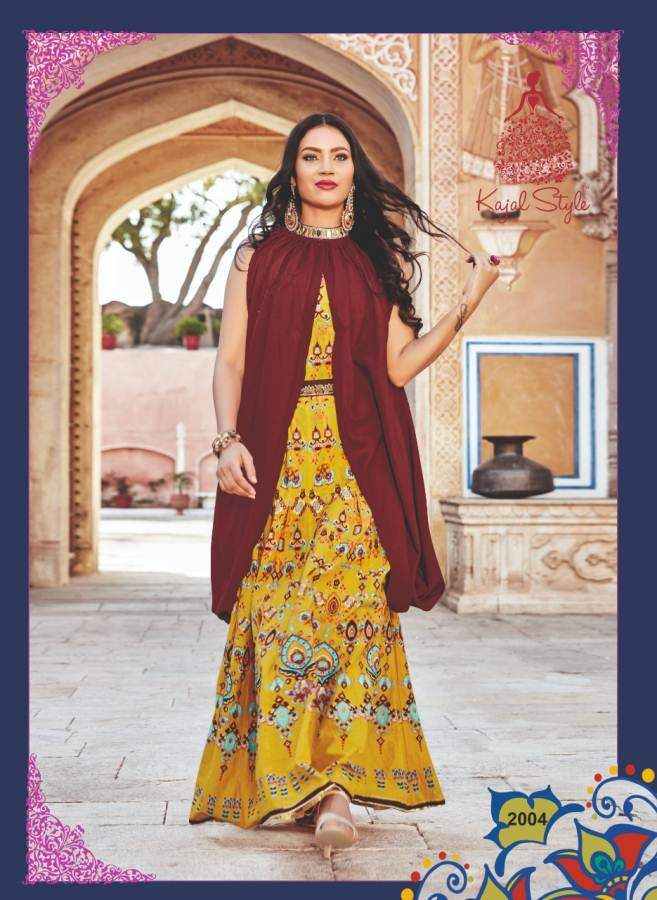Kajal Style Fashion Lakme 2 collection 4