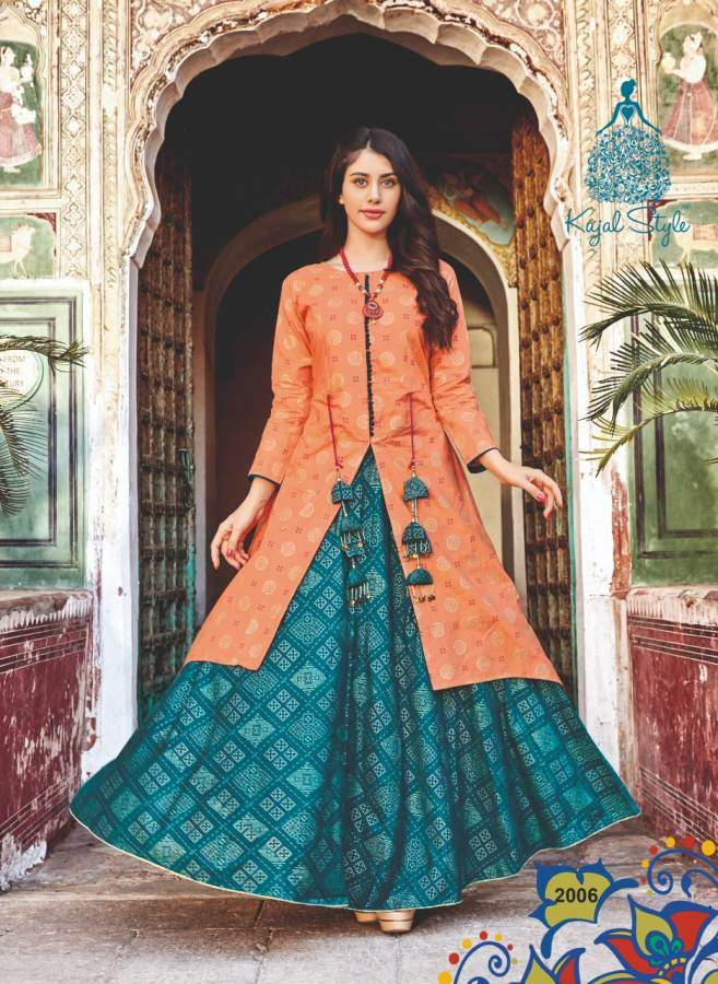 Kajal Style Fashion Lakme 2 collection 1