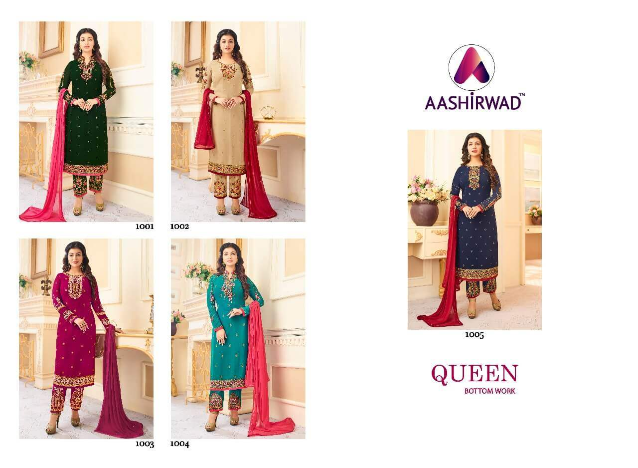 Aashirwad Creation Queen collection 1