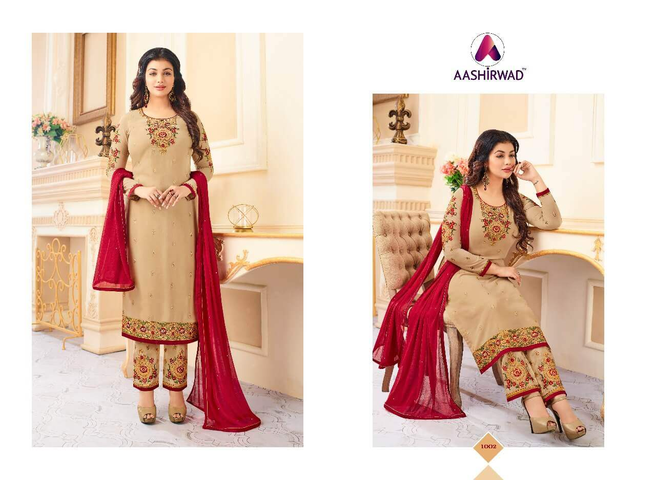 Aashirwad Creation Queen collection 4