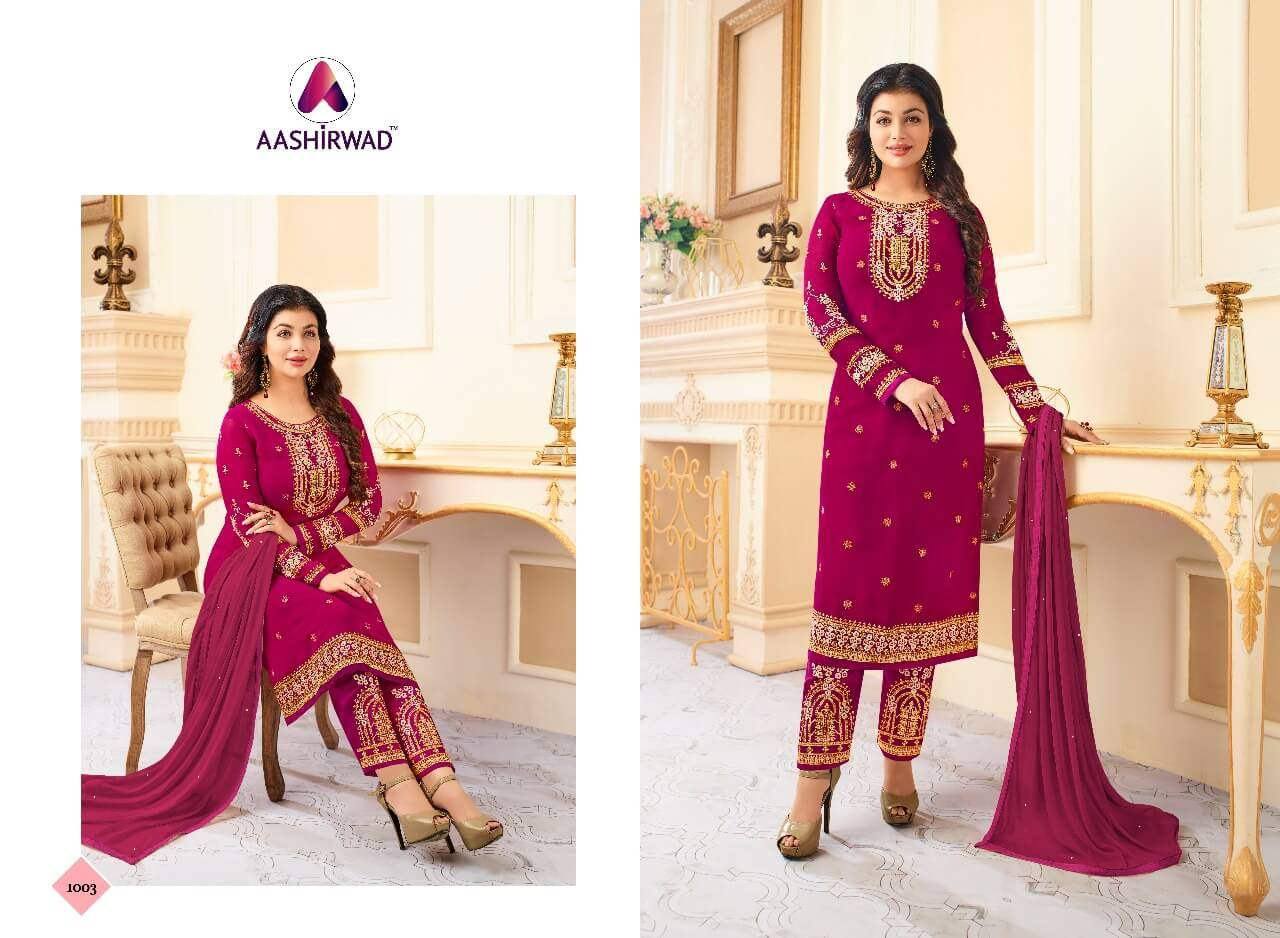 Aashirwad Creation Queen collection 5