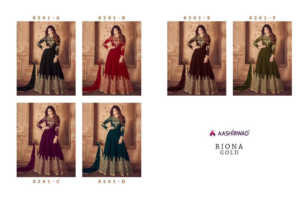 Ashirwad Riona Gold collection 1