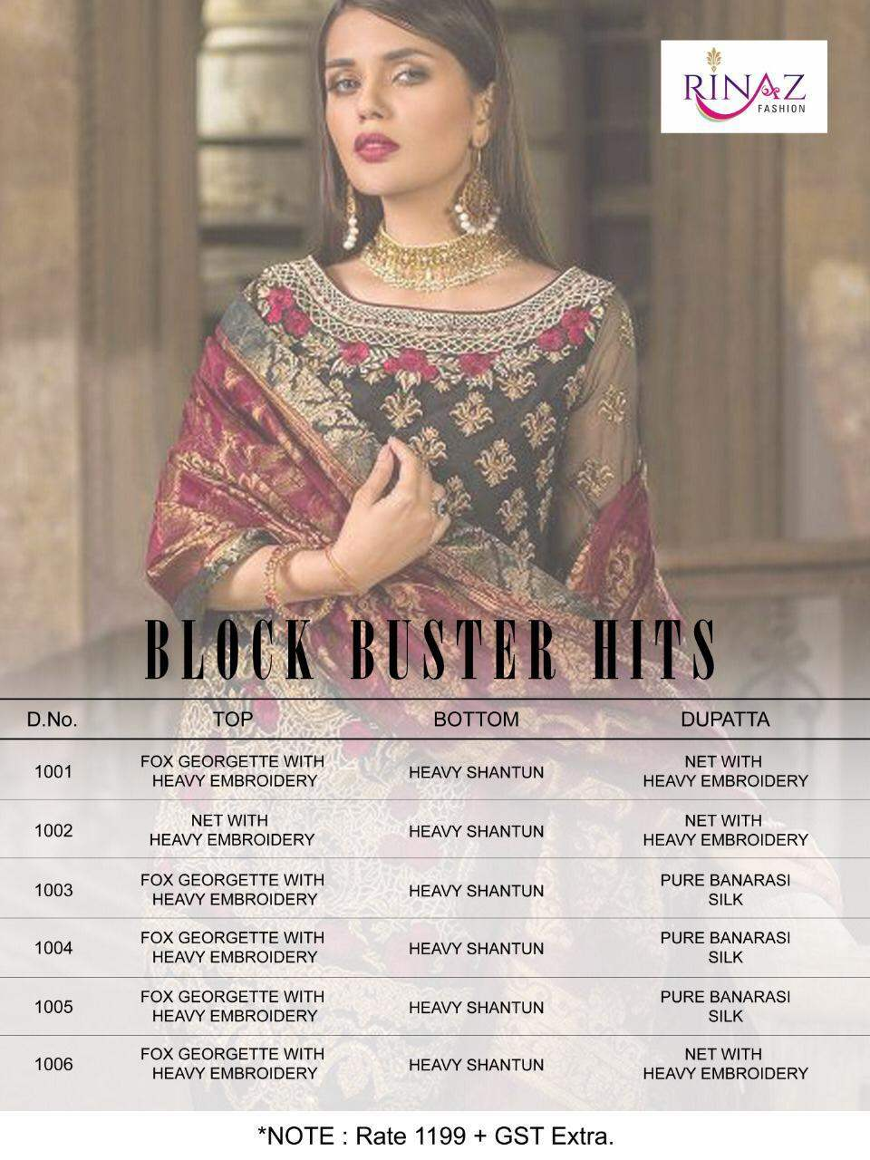 Block Buster Hits By Rinaz Fashion collection 5