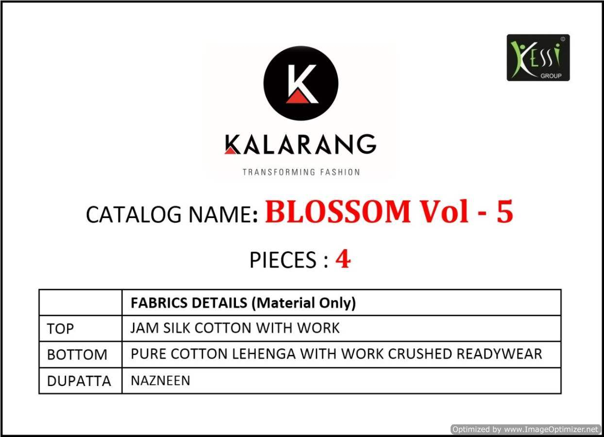 Kalarang Blossom 5 collection 2