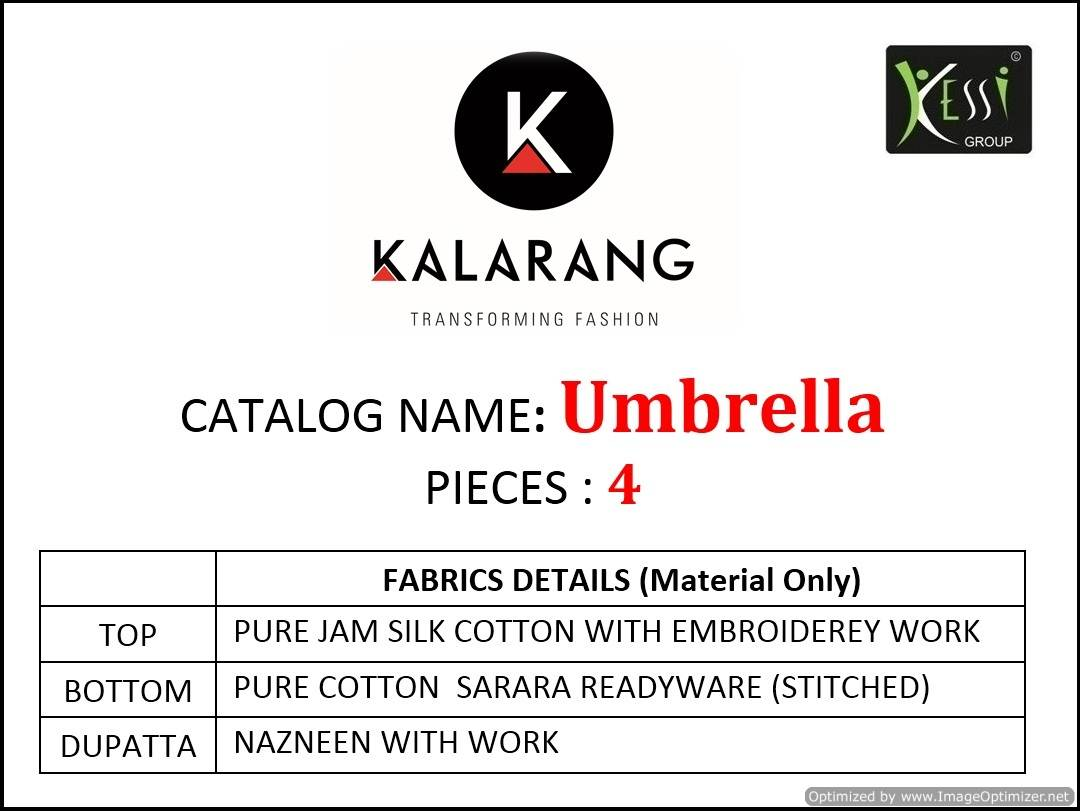 Kalarang Umbrella collection 5